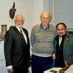 At the Massachusetts Institute of Technology ( MIT)USA with Nobel Laureate Prof.Jerome Friedman