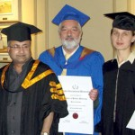 Honorary Doctorate Award Ceremony