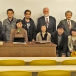 With-Professors-and-Students-at-the-Kyoto-University, Japan